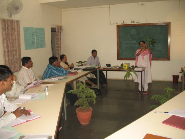 Baramati ADT Farm - Practising activating lesson
